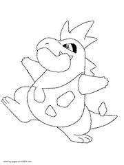 Coloring pages of Pokemon
