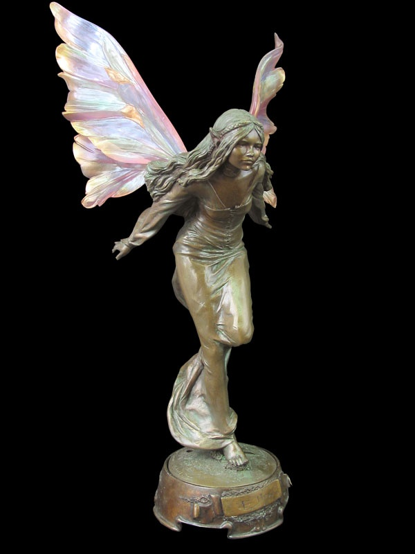 another of my favorite fairy statues | Fairies and Elves ...