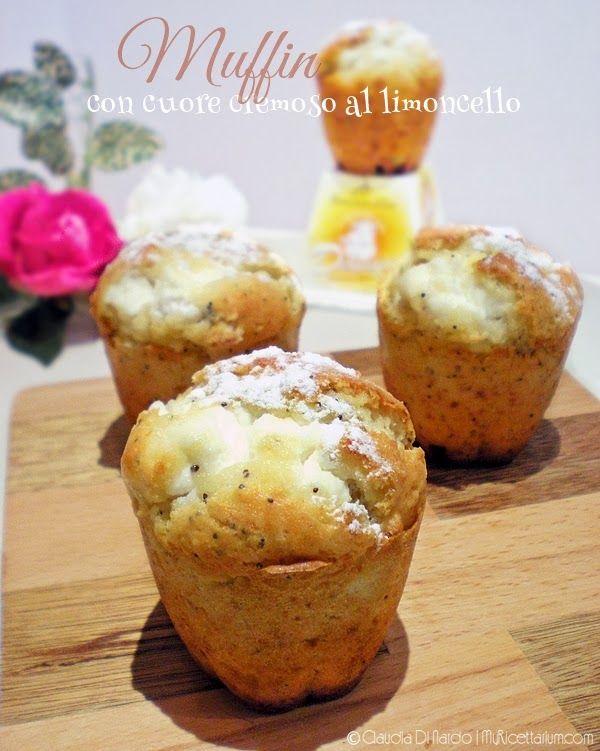 Muffin con crema di formaggio al limoncello