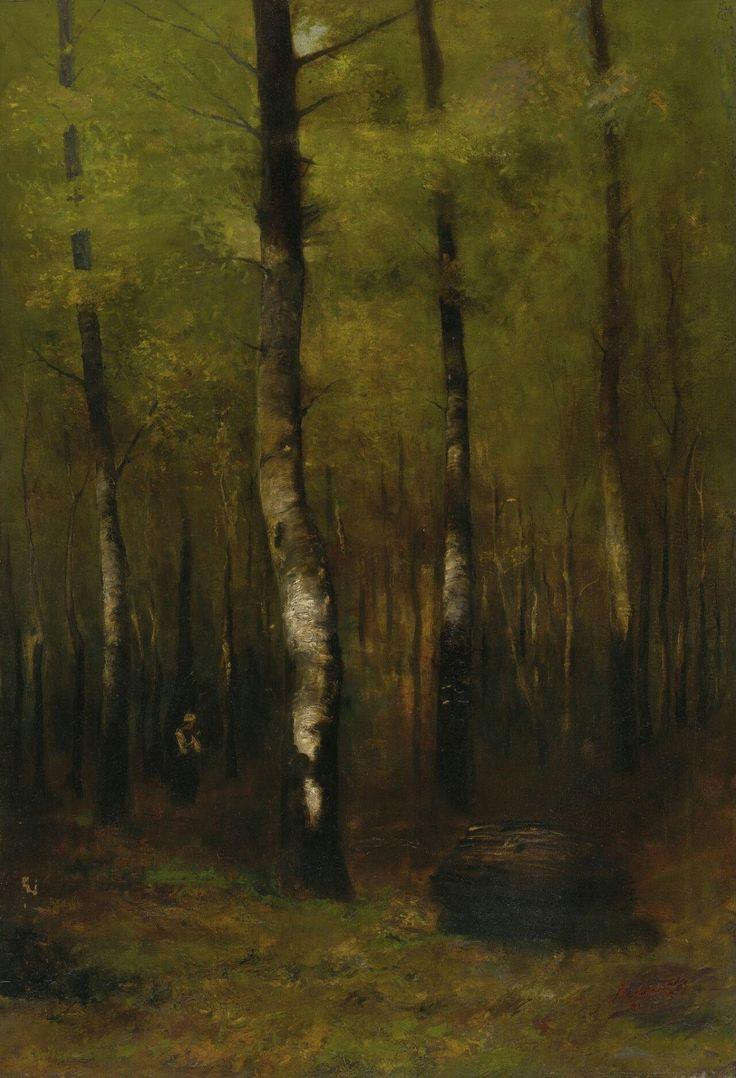 Woodland, 1889, László Mednyánszky