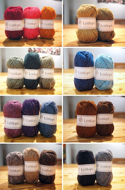 Great Lopi color combos featured on Fancy Tiger Crafts: Icelandic Lopi wool is here!