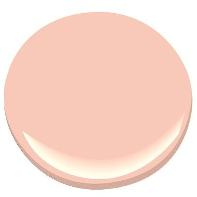 Benjamin Moore's Coral Buff.  This color is part of the Classic Color Collection.