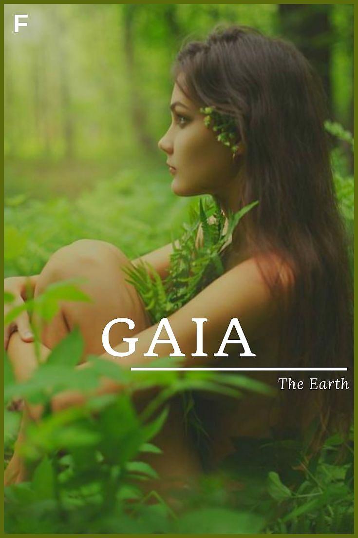 Gaia Bedeutet Die Erde Griechische Namen G Babynamen G