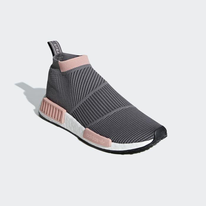263e0a9df3 NMD CS1 Primeknit Shoes Grey 10 Womens