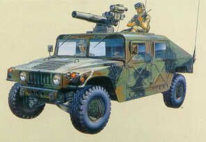 M966 Hummer TOW. Academy, 1/35, injection, No.13250. Price: 12,49 GBP.