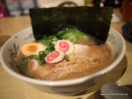 Street Food: Ryo's Noodles ~ Ramen in Tokyo style sauce (chicken base) $11.50 - Crows Nest