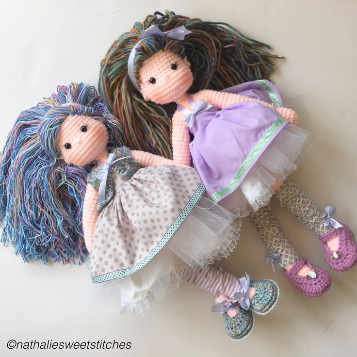 Love crochet, amigurumi dolls ♡ lovely doll