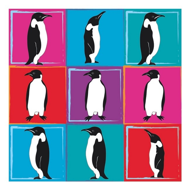Here's the story of a lovely... penguin...?