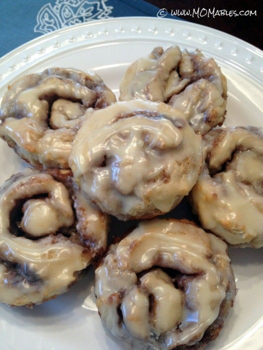 cinnamon rolls allergy friendly www.MOMables.com  gluten free, soy free, dairy free, nut free, egg free