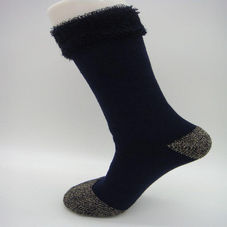 S0013 2017 Brand New  Men's Wool Socks Super Thick and Warm Thermal Wool Socks Warm Crew Cushion Wool Socks for Winter