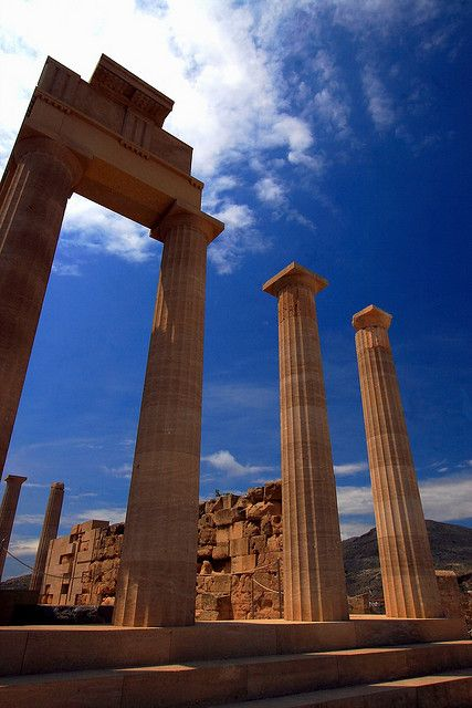 Acropolis of Lindos Greece