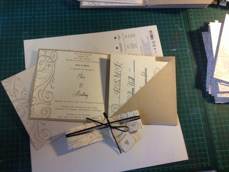 Pocket Wedding invite