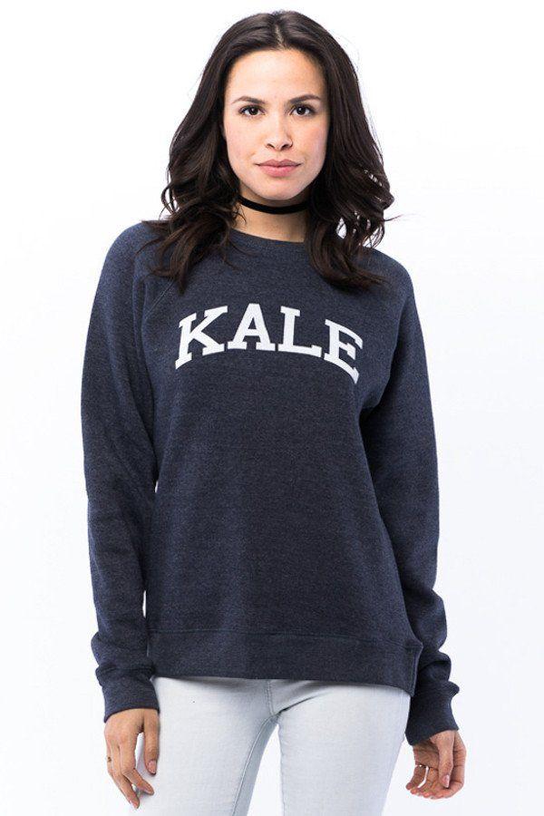 Kale Unisex Crew Sweatshirt