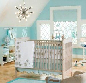 quartos de bebe menino com tema oceano
