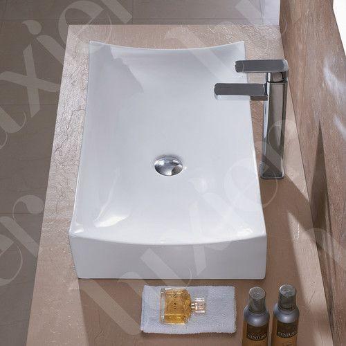 Found it at Wayfair - Porcelain Ceramic Vessel Vanity Bathroom Sink