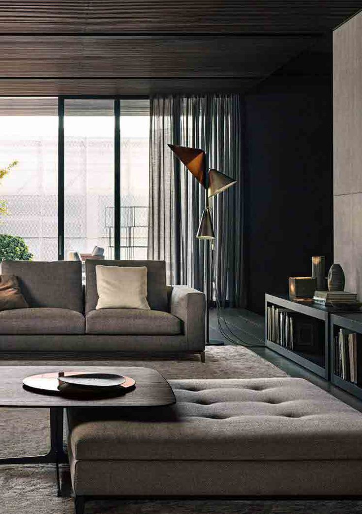 Best Minimal Luxury Hotel And Restaurant Interiors Images On - Cool apartment ideas blending wood black white interior design decor