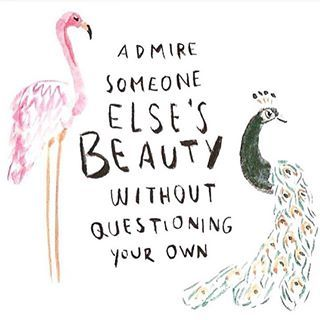The only person you should strive to be better than is the person you were yesterday. Love yourself while loving others for who they are as well