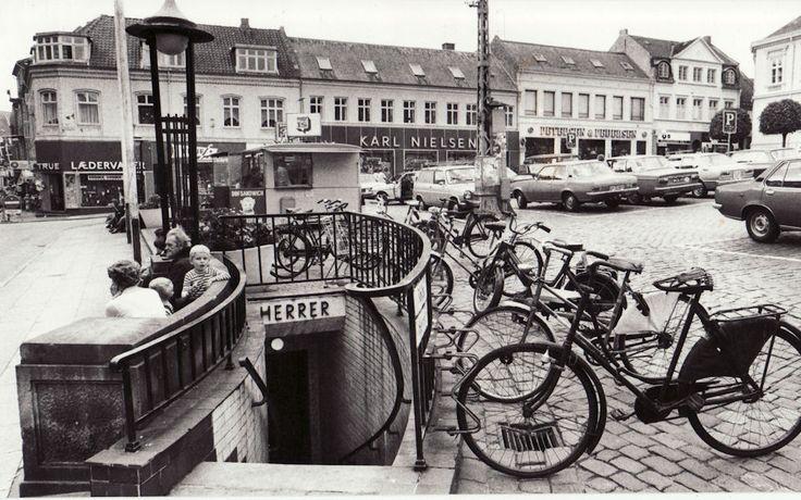 Hjultorvet i Viborg ca. 1960