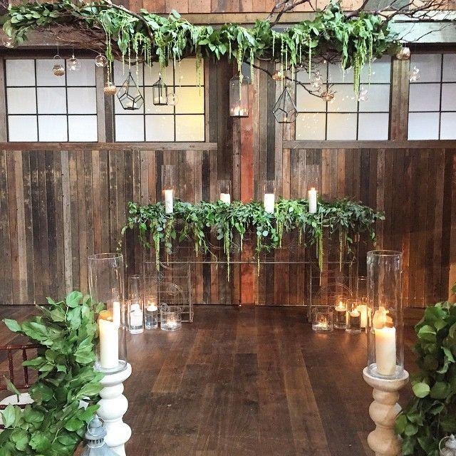 Hawaiian Wedding Altar: The Altar At Tonight's Sodo Park Open House. #wedding