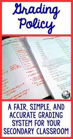With back to school around the corner, it is so important in high school (and middle school) classrooms to have a fair, accurate, and simple grading system established. This post details my tried and tested classroom strategy for grading that is perfect for not only 1st year teachers, but ALL!
