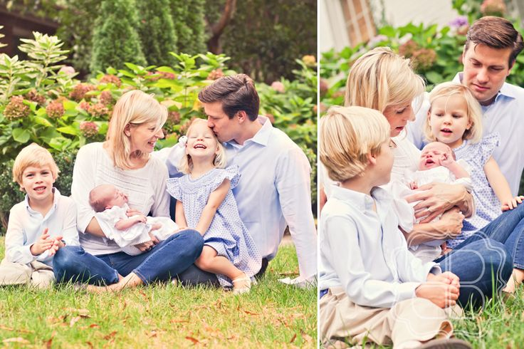 Family with a newborn baby  Newborn  Family photos Baby Baby pictures