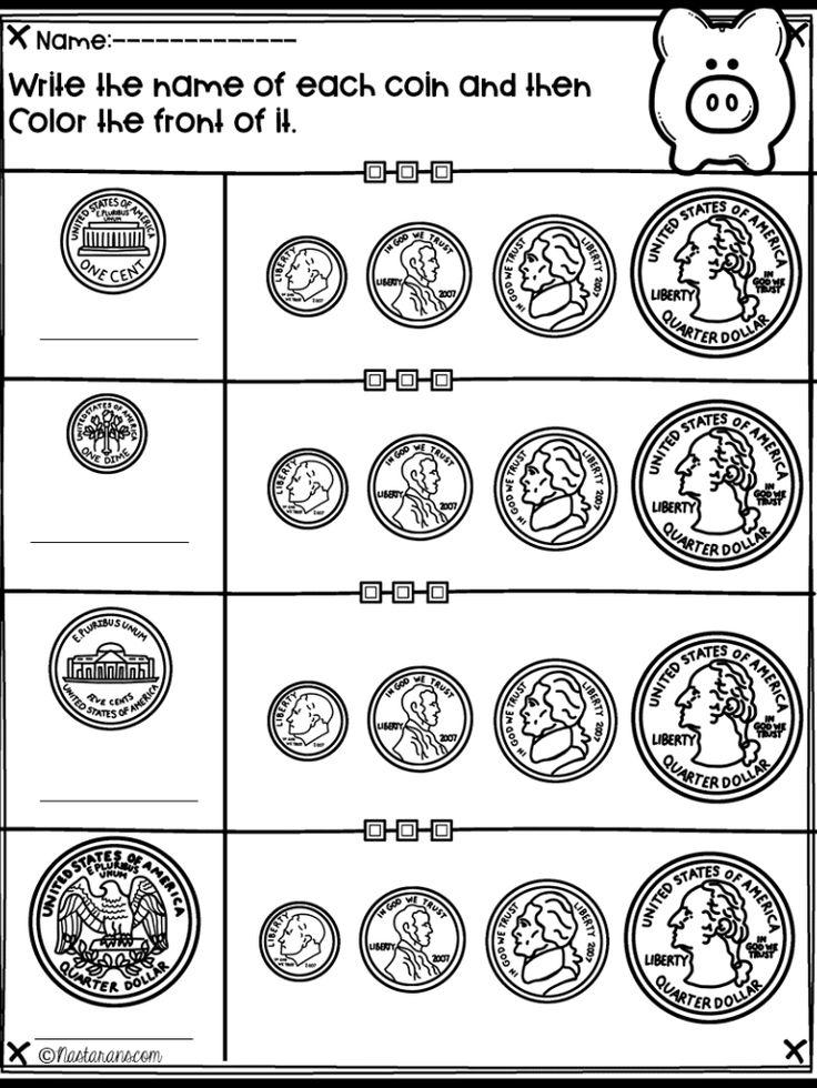 Money Worksheets | Money worksheets, 2nd grade math ...