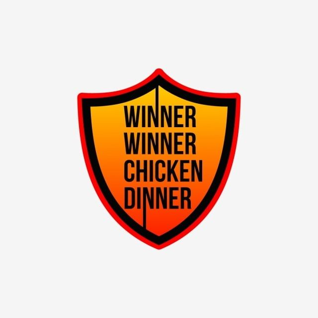 Shield Winner Winner Chicken Dinner Shield Clipart Square Red Pubg Png And Vector With Transparent Background For Free Download Chicken Dinner Winner Winner Chicken Dinner Chicken Vector