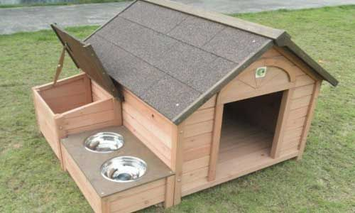 Over 100 Free Dog House Plans http://www.ilovemyk9.co.uk/                                                                                                                                                                                 More