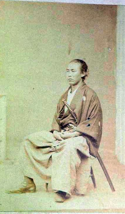 Sakamoto Ryōma (January 3, 1836 – December 10, 1867) was a leader of the movement to overthrow the Tokugawa shogunate during the Bakumatsu period in Japan.
