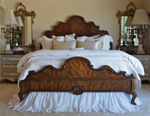 Sue Murphy Designs Country French Master Bedroom