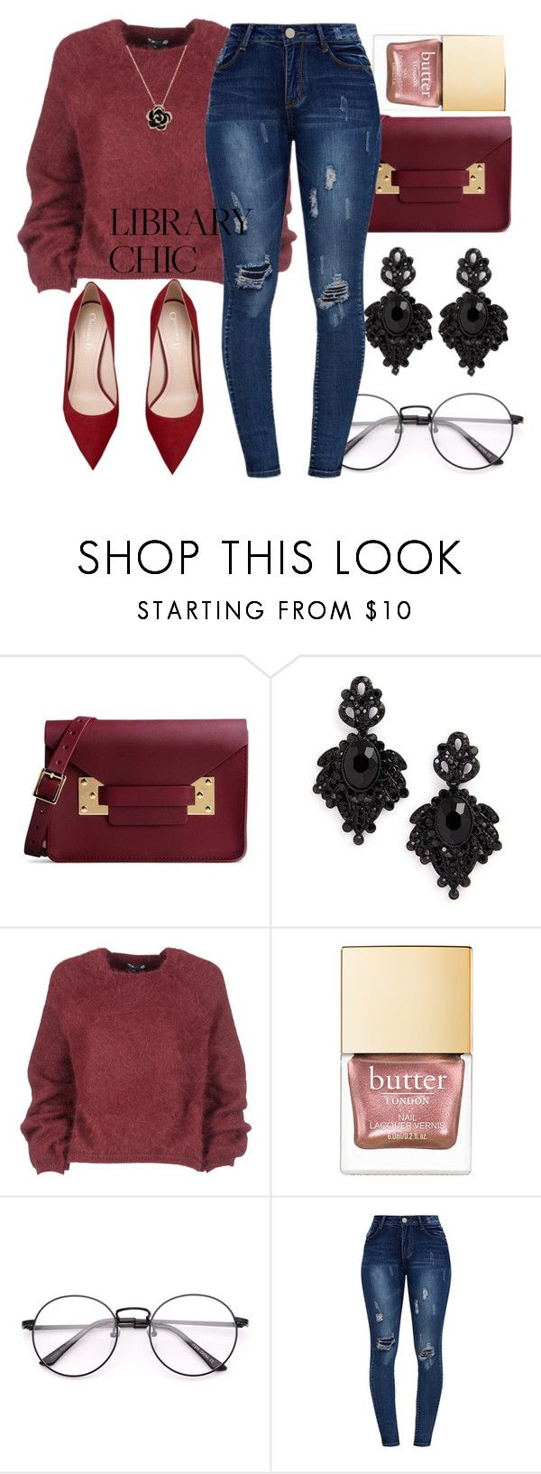 """""""Library Chic"""" by beautyqueenmsthing ❤ liked on Polyvore featuring Sophie Hulme, Tasha and Tom Ford"""