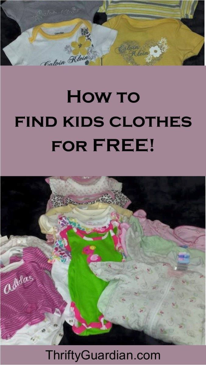Stop Paying for Kids Clothes! How to save money on children's clothes, including how to save on baby clothes! Save money, discount kids clothes, discount baby clothes, save money on clothing