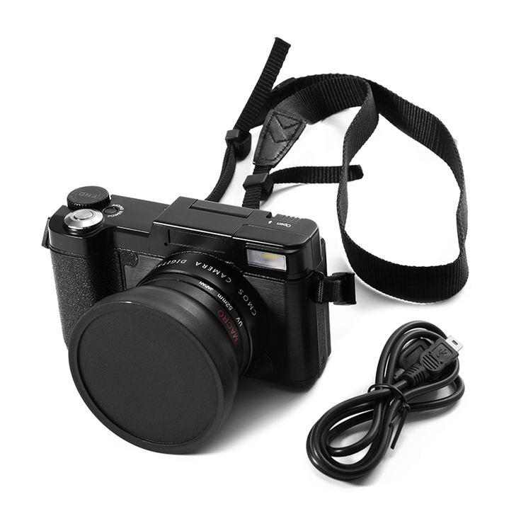 Cheap professional digital camera, Buy Quality digital camera directly from China hd camera Suppliers: 24MP HD Half-DSLR Professional Digital Cameras with 4x Telephoto,Fisheye & Wide Angle Lens Cameras Macro HD Cameras