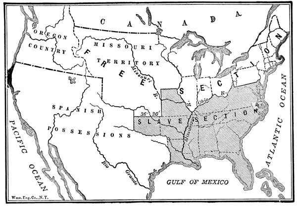 an introdution to the history of the missouri compromise Unit 1: the missouri compromise from knilt introduction in unit 1, we will analyze map of the missouri compromise lesson 1: the history of slavery in america.