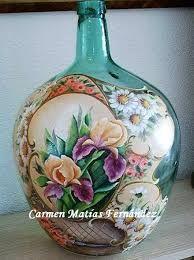 Imagini pentru garrafas pintadas a mano