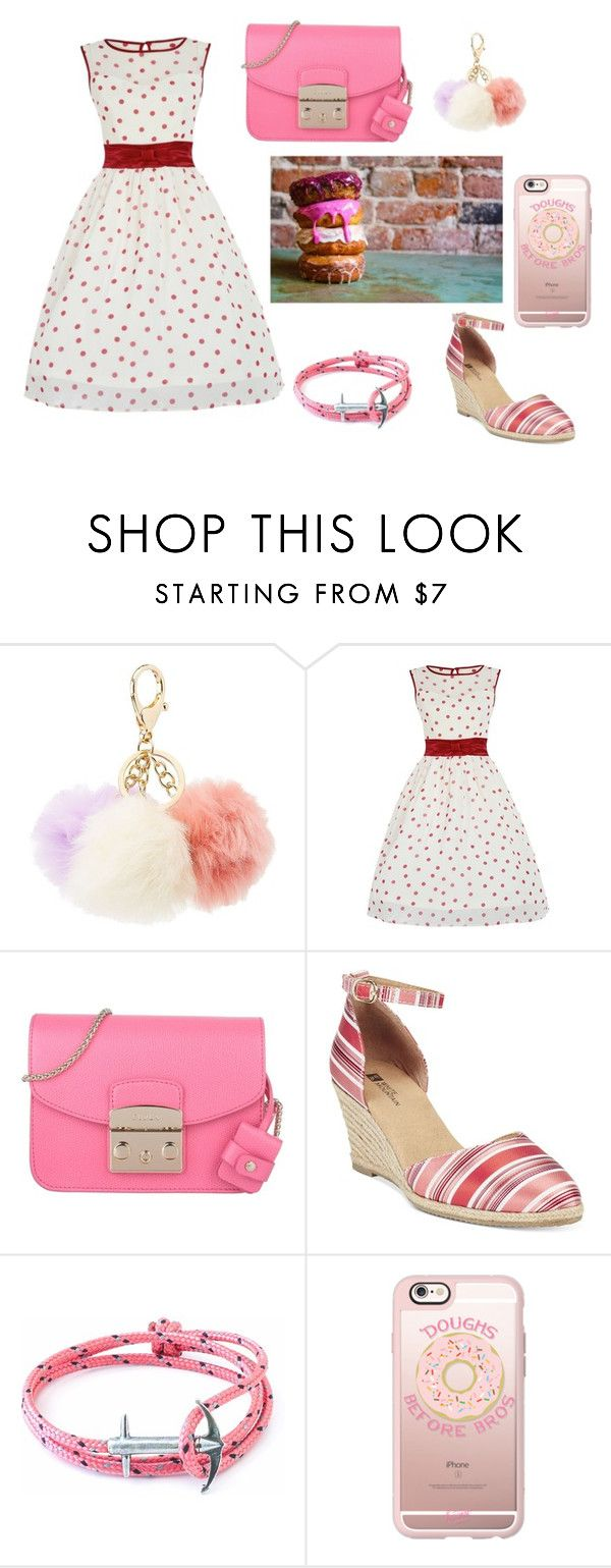 """""""candy party"""" by fairuzarazak on Polyvore featuring Charlotte Russe, Furla, White Mountain, Anchor & Crew and Casetify"""