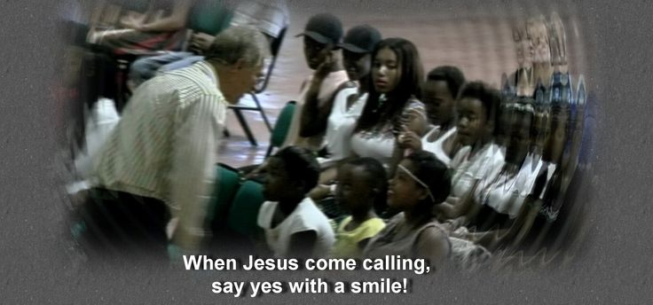 Please smile for Jesus!