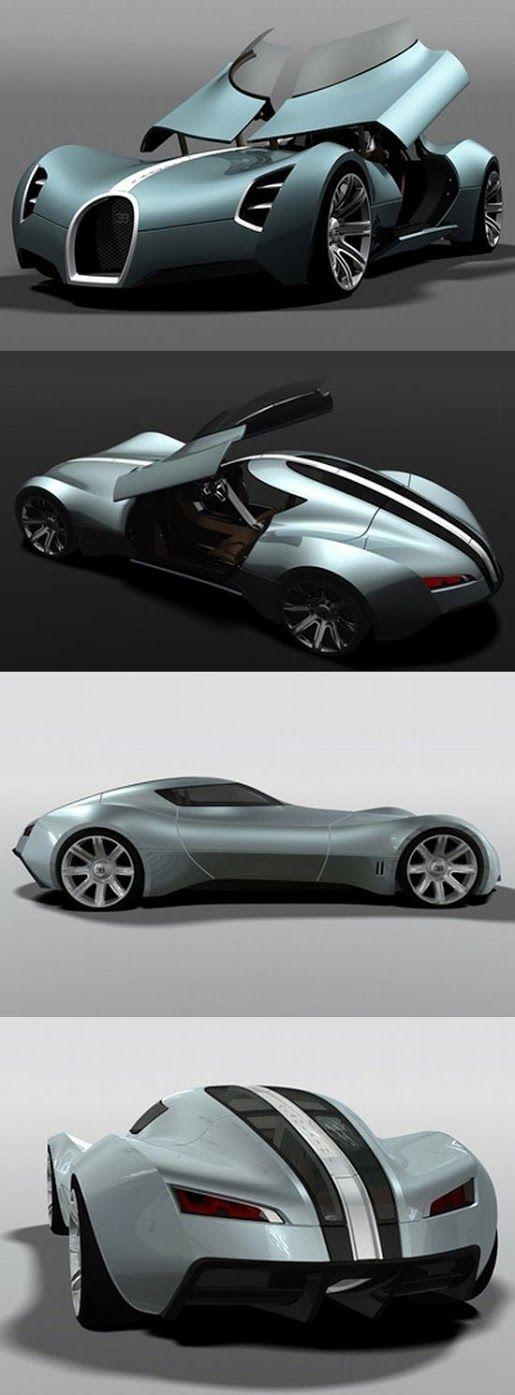 Carro Concepto Bugatti Aerolithe
