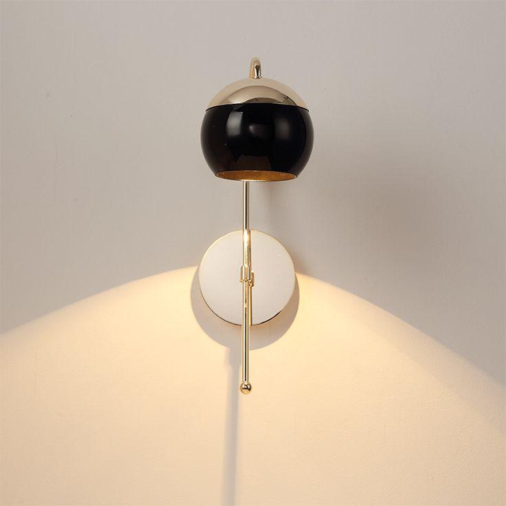 Пост современный Гибкий Золото Железа Стеклянная Стена Лампы Для Гостиной Спальня Отель Деко Творческий Классическая Led E27 Крыльцо свет 1345купить в магазине Y3 lighting StoreнаAliExpress
