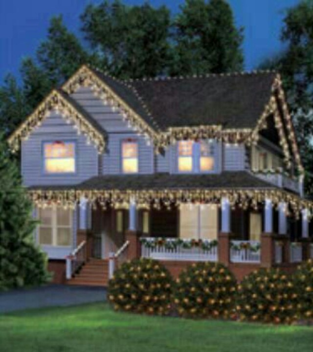 74 best Exterior Christmas Lighting and decor images on ...