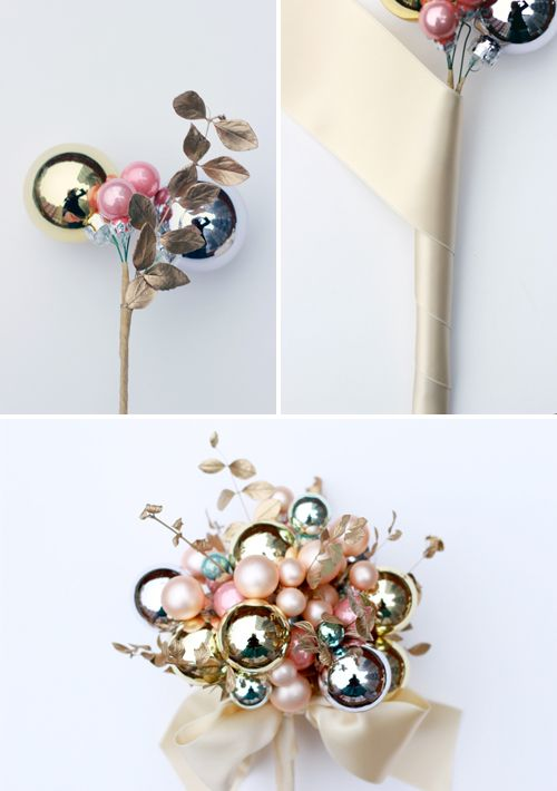The House That Lars Built.: How to make: bulb bouquet