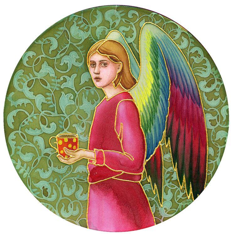 Angel batik