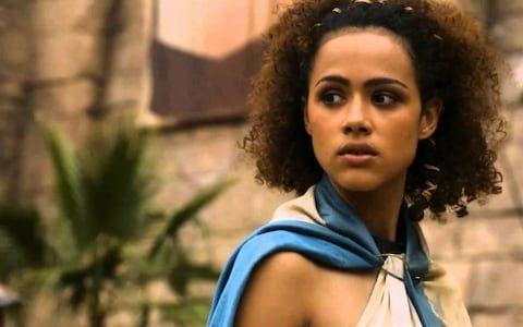 Nathalie Emmanuel as Missandei in Game of Thrones