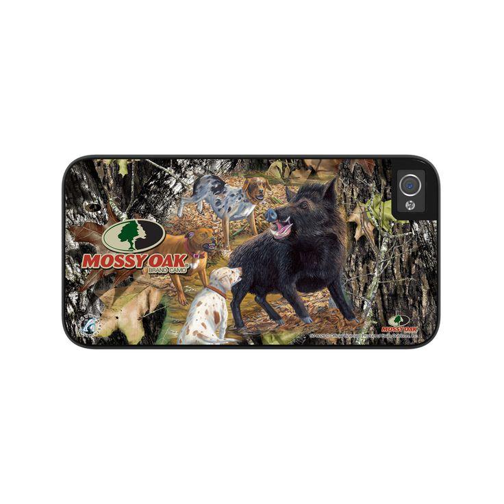 Airstrike® Camo Phone Case Mossy Oak Break Up Wild Boar iPhone 5s Case, Hog Hunting Camo iPhone 5 Case, iPhone Case Protective Phone Case-50-8026