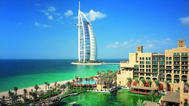 Dubai Architecture Beach Boat