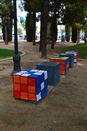 Artist decorates local park in yarn a la Christo