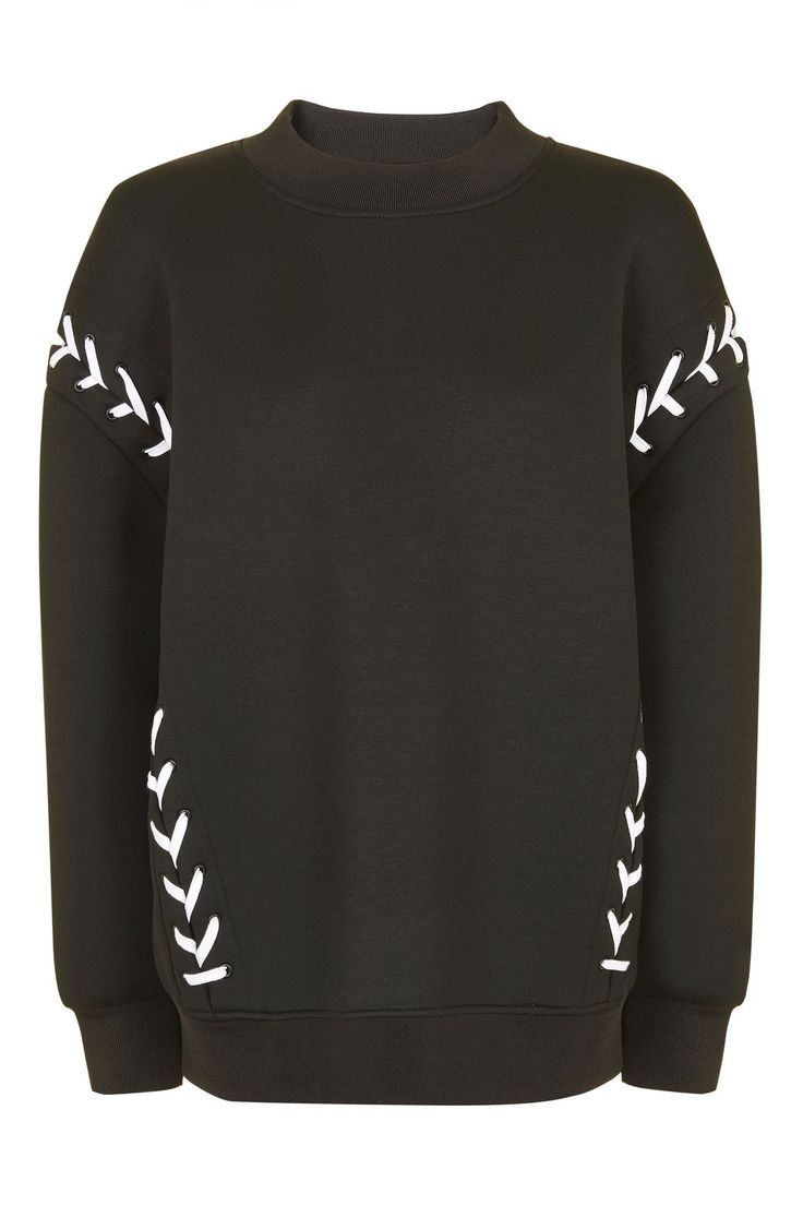 Laced Sweatshirt by Ivy Park - New In- Topshop