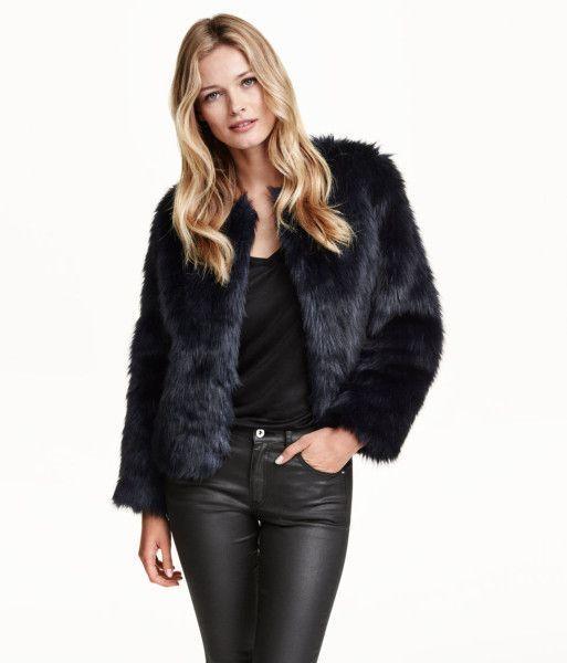 Best 25  Black faux fur jacket ideas on Pinterest | Black fur ...
