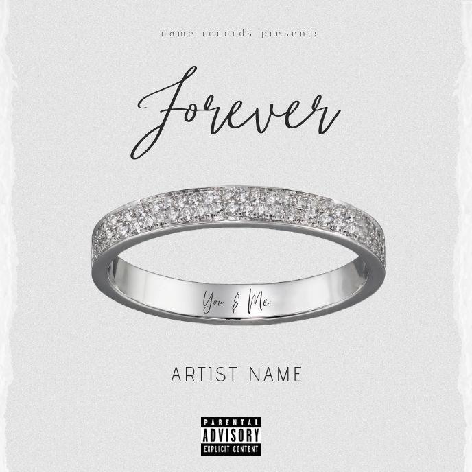 Forever Mixtape Album Cover Art Template Album Cover Art Album Art Design Dark Purple Aesthetic
