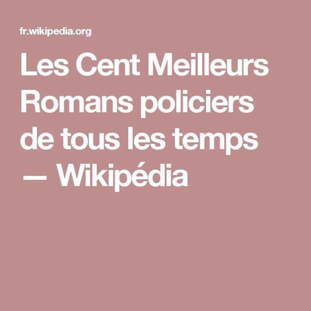Les Cent Meilleurs Romans policiers de tous les temps — Wikipédia